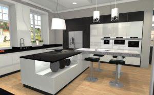 kuchnia na wymiar - projekt